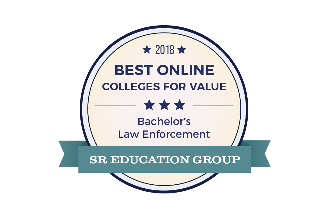 2018 Best Online Colleges for Value - Bachelor's Law Enforcement