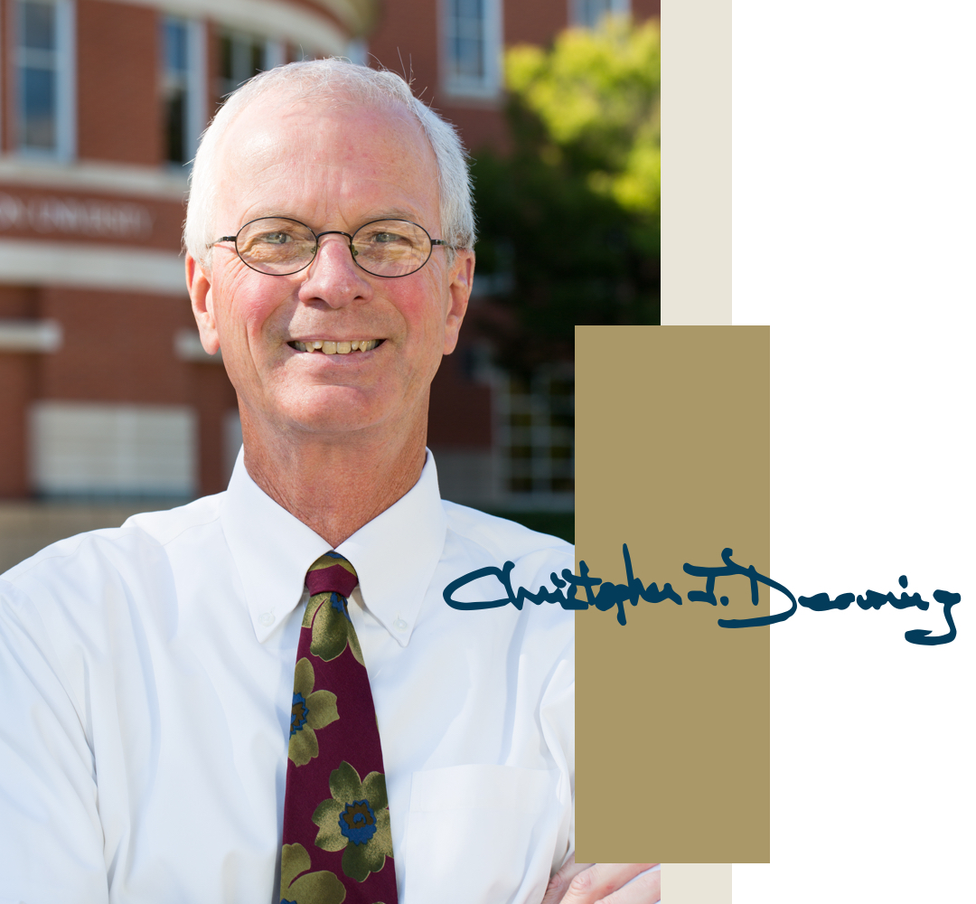 Interim Dean Chris Deering