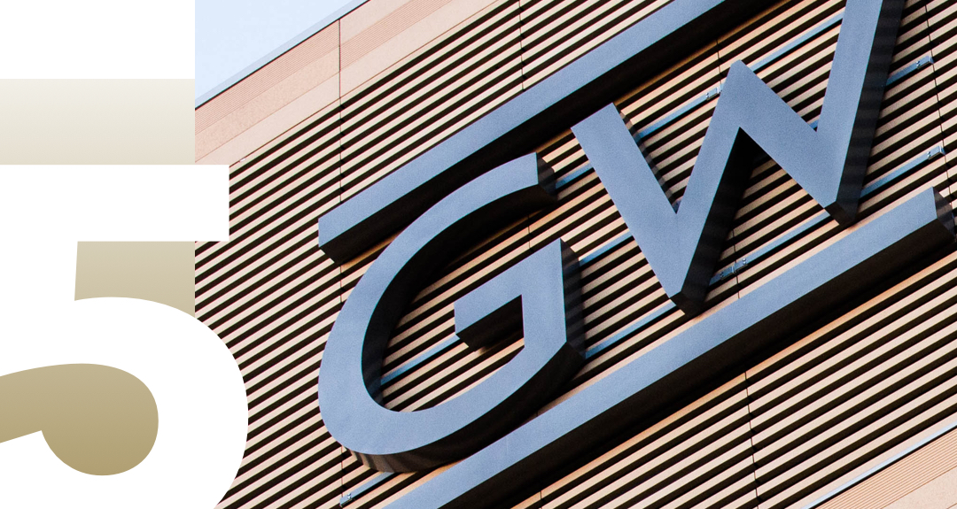 5 GW locations to study, number 5 with GW logo on building