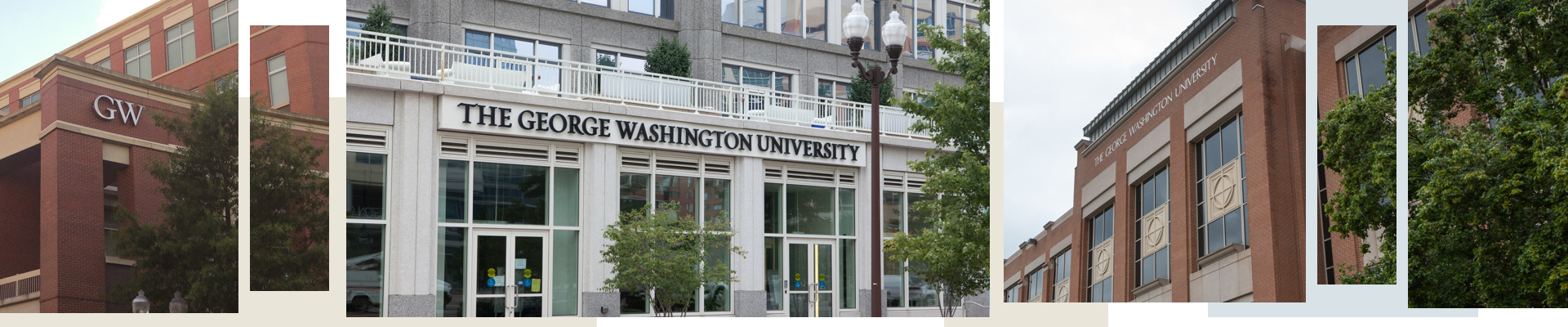 Photos of GW Campus Buildings in Alexandria, Arlington and at VSTC