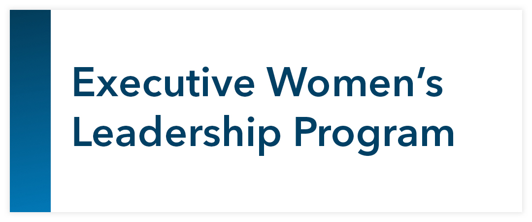 Executive Women's Leadership Program