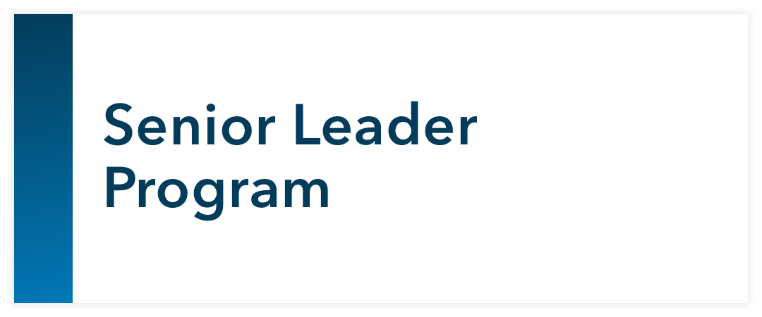 Senior Leader Program