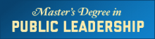 View our Master's in Public Leadership