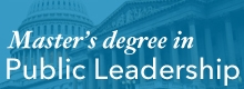 Master's Degree in Public Leadership