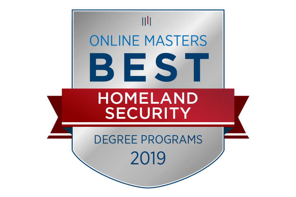 Homeland Security Degree >> Online Homeland Security Program Recognized As Industry