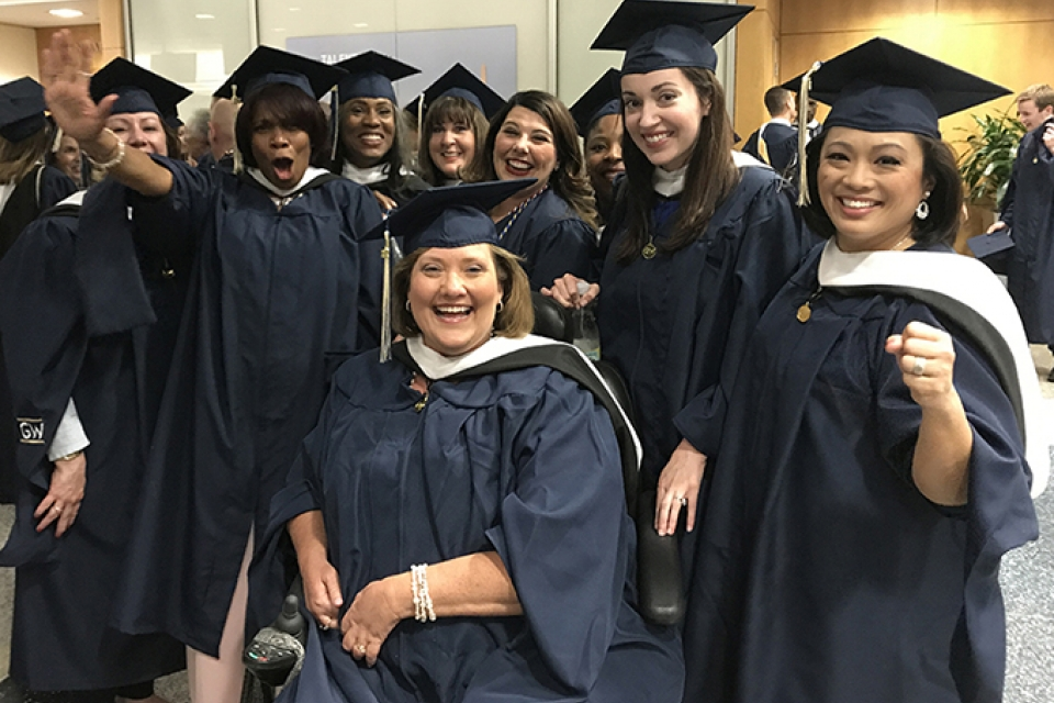 SPR students at 2017 Commencement