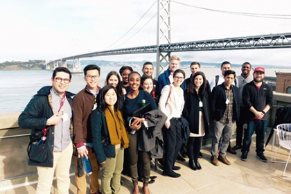 Bay Bridge and GW Students