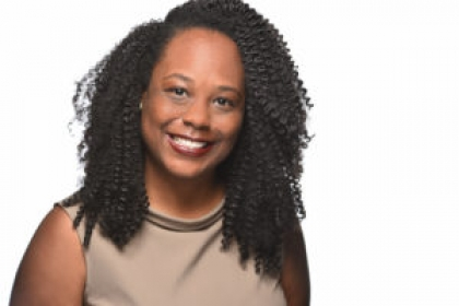 Headshot of Jasmine Wallace, African American alumna from the GW publishing program
