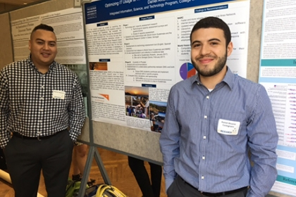 IIST students at GW Research Day