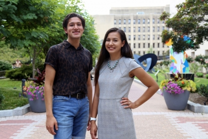 2 NAPLP students who interned on Capitol Hill this summer