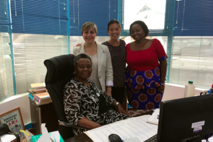 Paralegal program faculty in Tanzania office