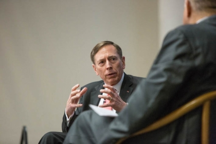 Cyberspace cannot be uncontested space for the enemy, former CIA Director David Petraeus said at last week's DCOI annual summit.