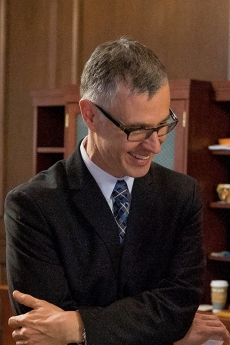 Photo of Matthew Dalbey in suit