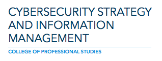 Cybersecurity Strategy & Information Management